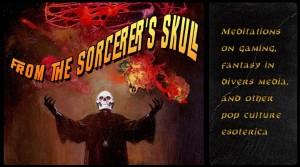 Sorcerers Skull Banner